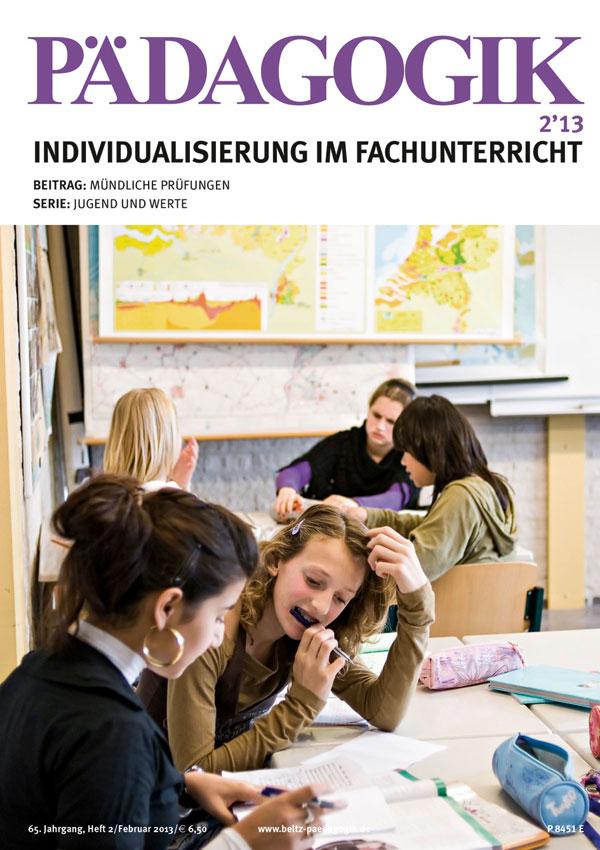 Beltz-Paedagogik-2-2013-Hattie-Studie-Visible-Learning-Individualisierung-Fachunterricht
