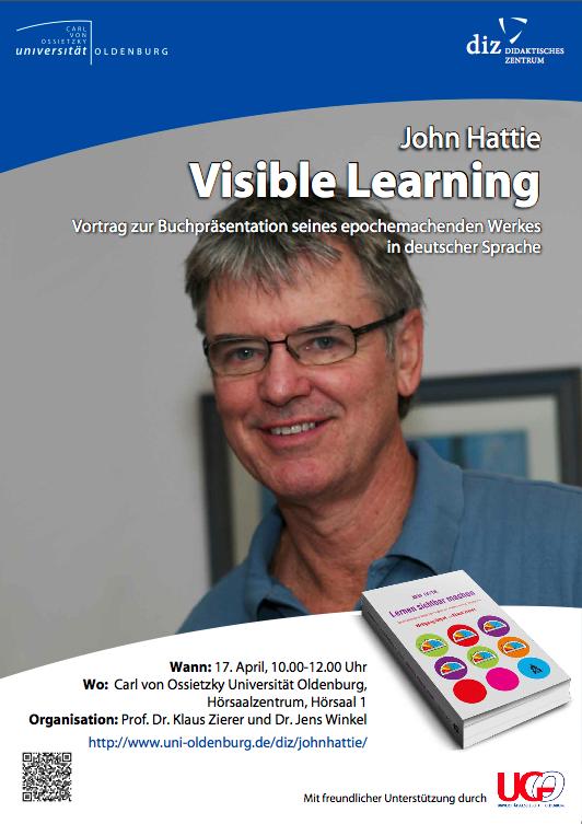 John-Hattie-Studie-Deutsch-Vortrag-Visible-Learning-Uni-Oldenburg-DIZ-Klaus-Zierer-2013