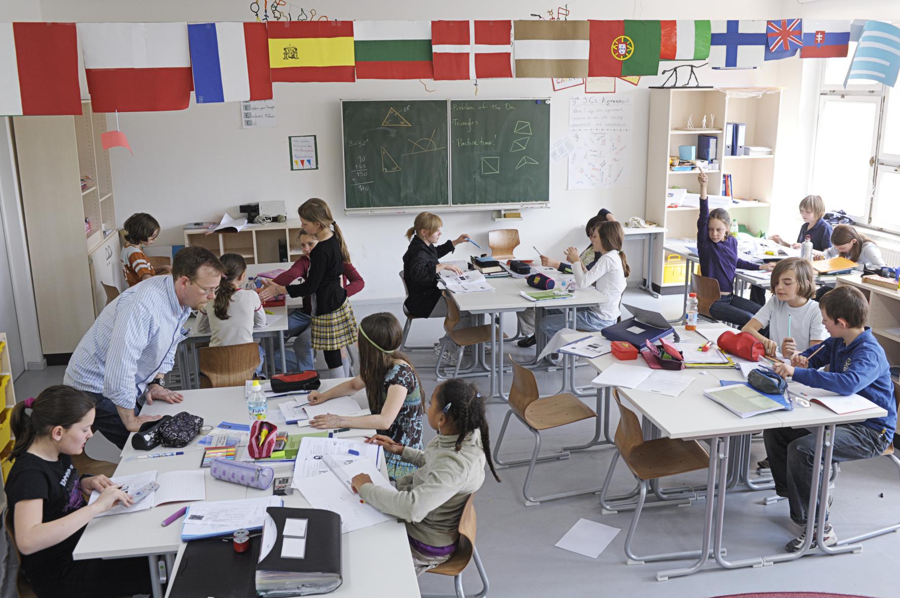 Berlin Metropolitan School Mathematikunterricht 5. Klasse