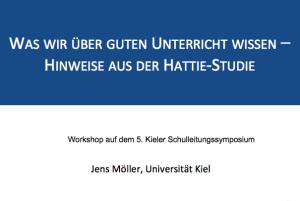 Jens-Moeller-Vortrag-John-Hattie-Studie-Guter-Unterricht-Praesentation-Kieler-Schulleitungssymposium