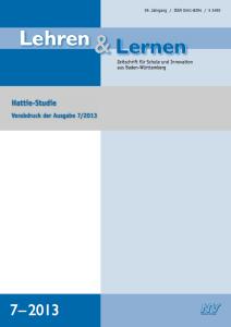 Andreas-Helmke-Interview-Hattie-Studie-Zeitschrift-Lehren-und-Lernen-7-2013_Visible-Learning_Lernen-sichtbar-machen