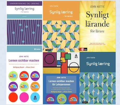 Visible Learning translated into Norwegian, Danish, Swedish and German