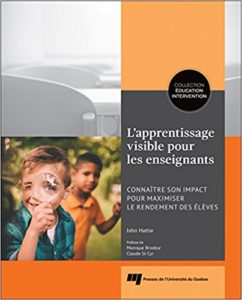 John Hattie Visible Learning handbook for teachers