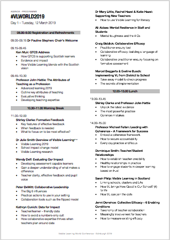 visible-learning-world-conference-agenda-programme-2019-edinburgh
